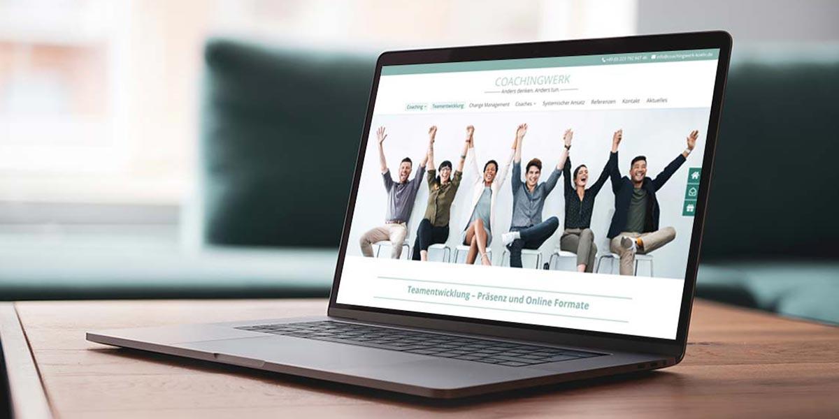 Coachingwerk Köln Webdesign