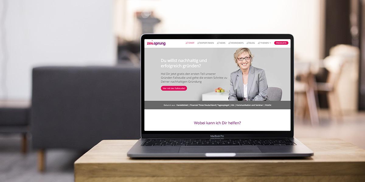 Webdesign für Coach Kathrin Scheel
