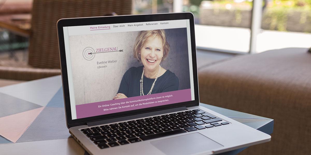 Webdesign für Life Coach